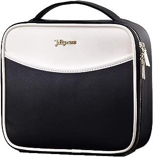 Makeup Bag Cosmetic Leather Organizer - 10.4