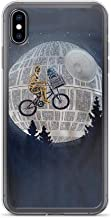 TEEMT Compatible with iPhone Xs Max Case Rey vs Kylo Ren Commands Star Wars Pure Clear Phone Cases Cover