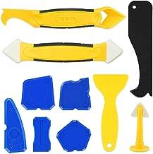 10 stuks siliconen afdichtingsgereedschap afwerkingsgereedschap kit glas rakel afdichtingsgereedschap 3-delig afdichtingsg...