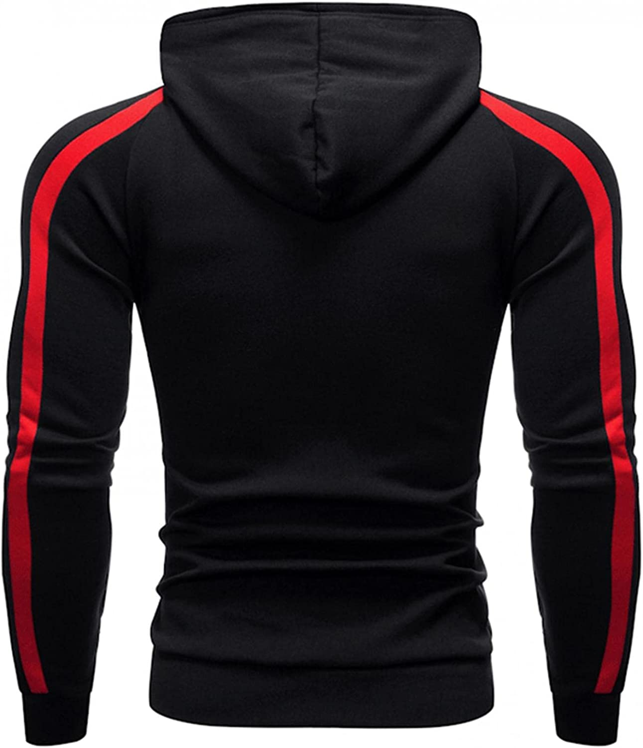 Hoodies for Men Men's Autumn Winter Casual Long Sleeve Sports Hooded Tight Top Fashion Hoodies & Sweatshirts Blouse