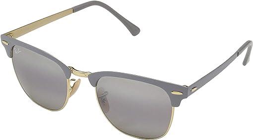 Gold/Top Matte Grey/Grey Bi-Mirror Grey