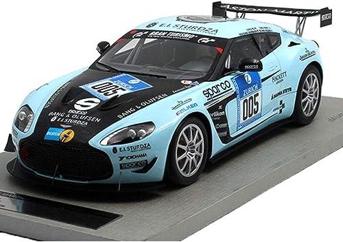 online barato GAOQUN-TOY GAOQUN-TOY GAOQUN-TOY 1 18 Aston Martin V12 2012 Racing Simulation Resina Modelo de Coche Decoración (Color   azul, Tamaño   27cm11cm6.5cm)  Todo en alta calidad y bajo precio.