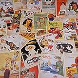 32 Blatt Postkarten,Postkarten Set,Vintage