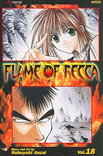 [Flame of Recca: v. 18] (By: Nobuyuki Anzai) [published: April, 2009]