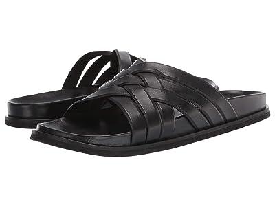 Cole Haan Feathercraft Slide Sandal (Black) Men