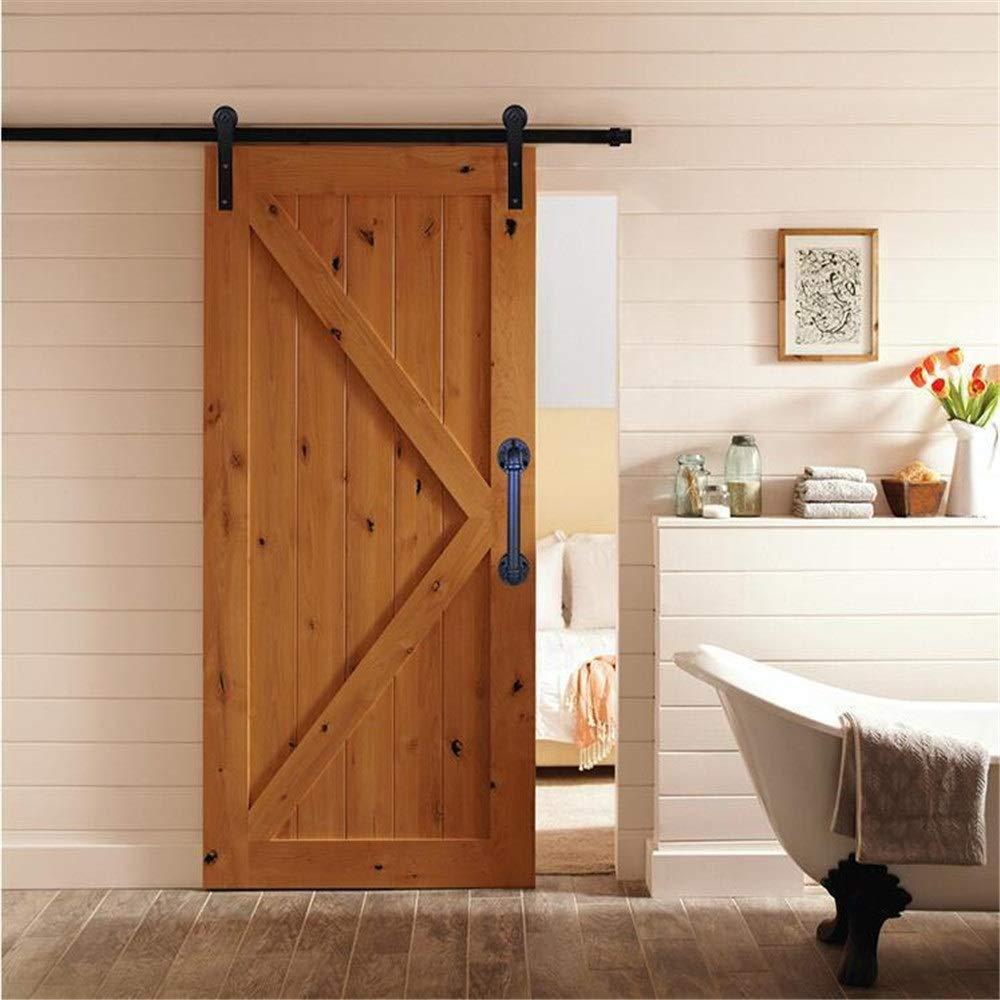 Manija de la puerta Hierro manija de la puerta deslizante de la ...