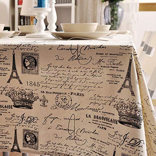 XXDD Mantel Impreso Simple Cubierta de Armario de TV paño hogar a Prueba de Polvo e Impermeable Mantel de té A3 140x200cm