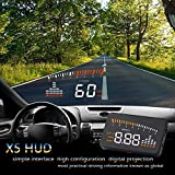 YOUNICER Auto HUD Head Up Display HUD GPS OBD2 Dual System Universal OBD2 HUD Head Up Display Projektor herramientas