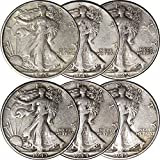 1940-1945 Walking Liberty Silver Half Dollar...