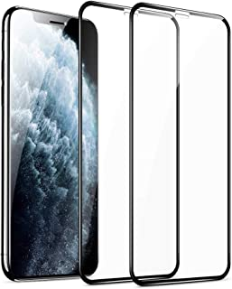 ESR Full-Coverage Tempered-Glass for iPhone 11 Pro Max Screen Protector/iPhone Xs Max Screen Protector [2-Pack] [Easy Inst...