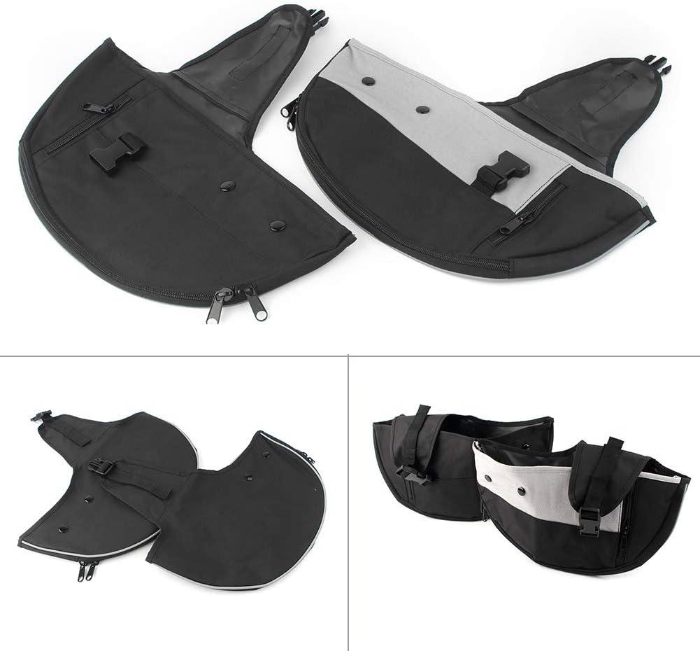 1 year warranty Three T Highway Crash Bar Lower Bags Compatible Leg Warmer Chap Classic