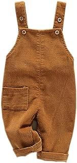 Toddler Boy Girl Soft Corduroy Suspender Pants Kids Overalls Retro …