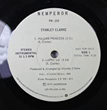 Stanley Clarke 45 RPM Vulcan Princess / Spanish Phrases for Strings & Bass