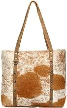 Myra Bag Opulent Cowhide Leather Tote Bag S-1263