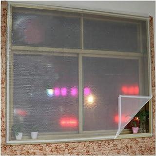 Lona, Aislamiento de Ventana Película de acristalamiento Secundaria Balcón Dormitorio Viento y frío Cinta mágica de película cálida de Burbujas de 2 Capas, reutilización (Color: Blanco, Tamaño: 140