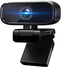 1080P Webcam with Microphone for Desktop, Intpw Web Cameras for Computers & Laptop, Streaming USB Webcam for Online Teachi...