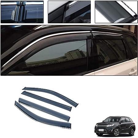 For Suzuki Grand Vitara 4pcs Tape-On Window Visor Deflector Rain Guard