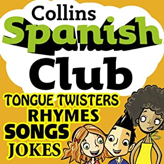 Spanish Club for Kids audiobook cover art