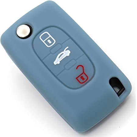 Schlüssel Hülle Pea Für 2 Tasten Autoschlüssel Silikon Elektronik