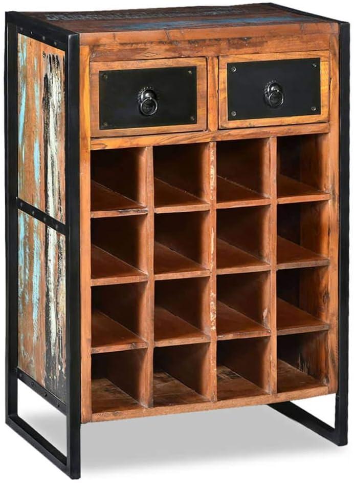 Vinoteca de madera 16 Botellas vidaXL