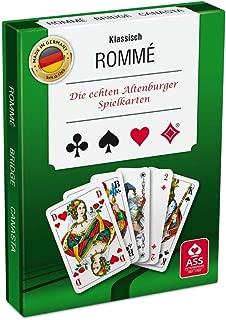 Philos Ass Altenburger 22570071–Card Game Rummy in Barrel Deck
