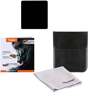 Rollei Profi Rechteckfilter Mark II   Graufilter (100x105 mm) aus Gorilla Glas   ND2000 Stopper (11Stopps/3,3) 100 mm System