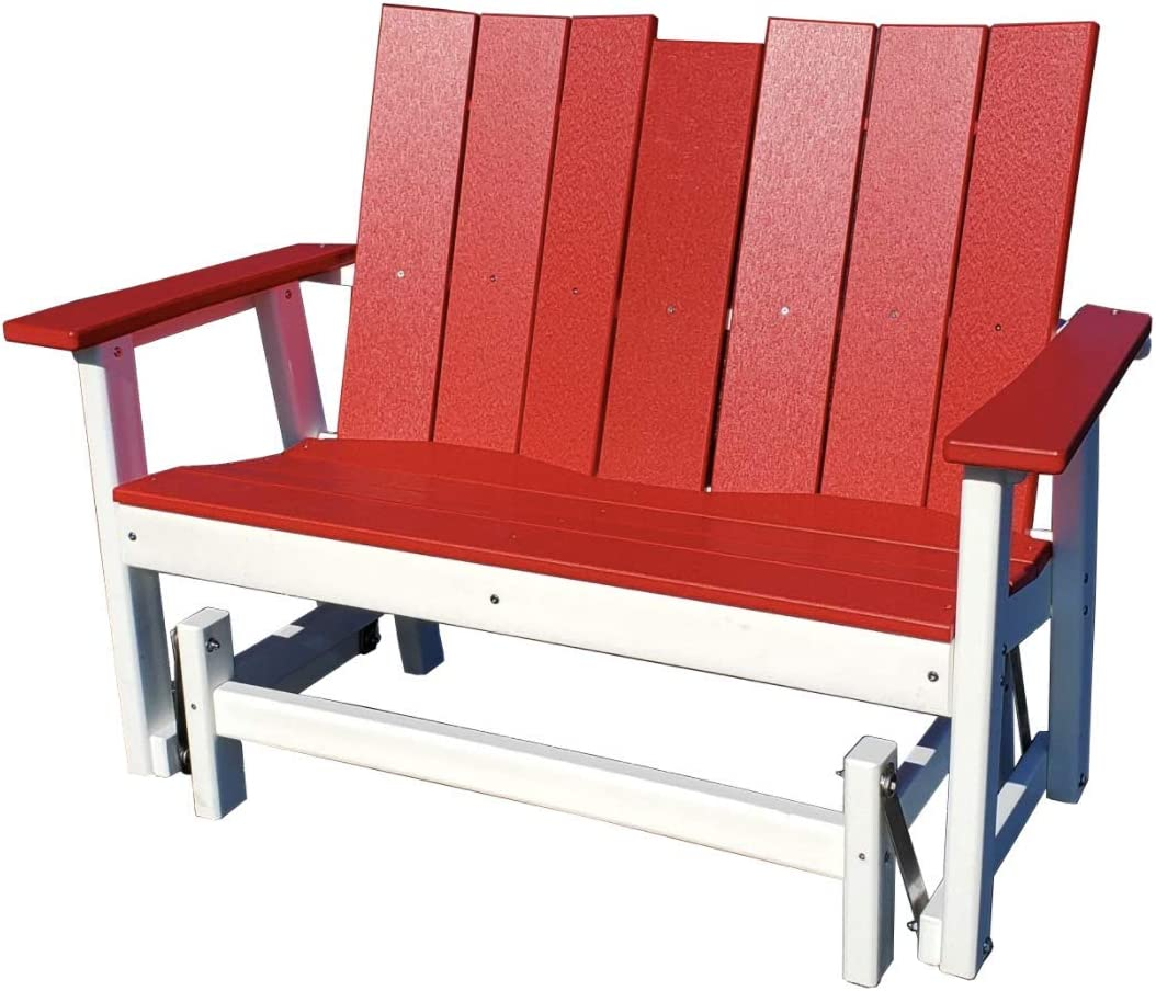Perfect Brand Cheap Sale Venue Choice Seasonal Wrap Introduction Furniture Recycled Double Glider Stanton Plastic