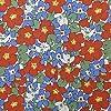 リバティ プリント 生地 タナローン Primula Violetsプリムラ・バイオレッツDC29782-TD-J18C 【数量×50cm単位】 LIBERTY