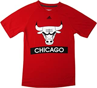 adidas Men's NBA Chicago Bulls Short-Sleeve Ultimate Tee