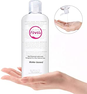 Fovel Water Based Personal Lube for Sex, Lubricant for Men Women 8 oz Paraben-free Hypoallergenic Super Slick Long Lasting Gay for Sex Toys Adult ,236ml