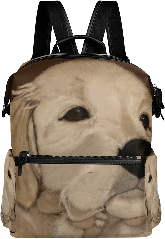 LORVIES Puppy Dog Paint School Rucksack Travel Backpack