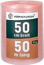 BB-Verpackungen 4 x luchtkussenfolie 0,5 x 50 m antistatisch (75 my sterk, bescherming van gevoelige voorwerpen) – sets tu...