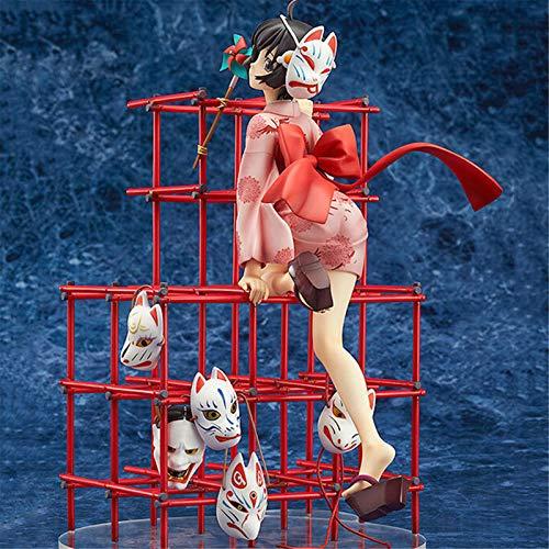 LZG Aragaki Moonfire Bakery Story Pseudo Story Phoenix Modelo De Personaje Animado De Phoenix,H:23.5cm