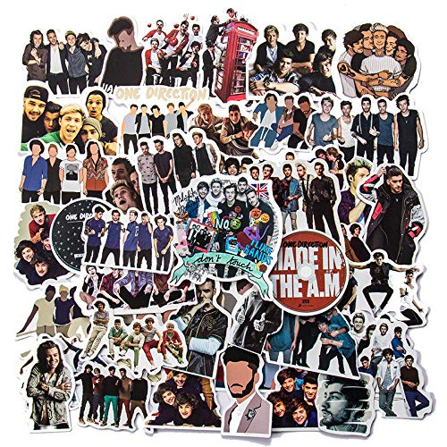 YCYY 50 One Direction Band Graffiti Stickers Luggage Trunk Motorcycle Waterproof Stickers