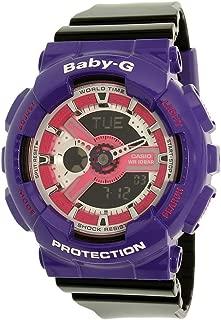 Casio Women's Baby-G BA110NC-6A Purple Resin Quartz Watch