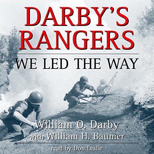 Darby's Rangers audiobook cover art
