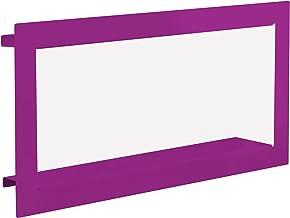 Element System 11338-00022, wandrek, frame/wandblokjes, paars, 290 x 620 x 90 mm, 3 maten, 3 kleuren