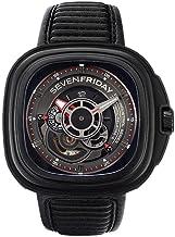 Sevenfriday P-Series Automatic Black Dial Men's Watch
