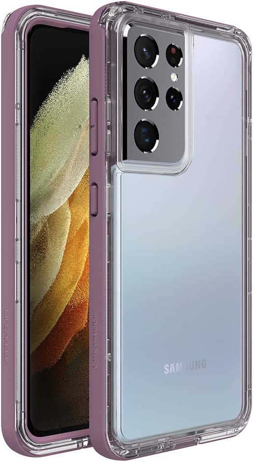 LifeProof NEXT SERIES Case for Galaxy S21 Ultra 5G - NAPA (CLEAR/GRAPEADE)
