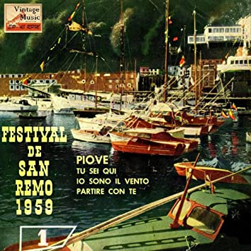 "Vintage Italian Song Nº 36 - EPs Collectors, ""Festival San Remo 1959"""