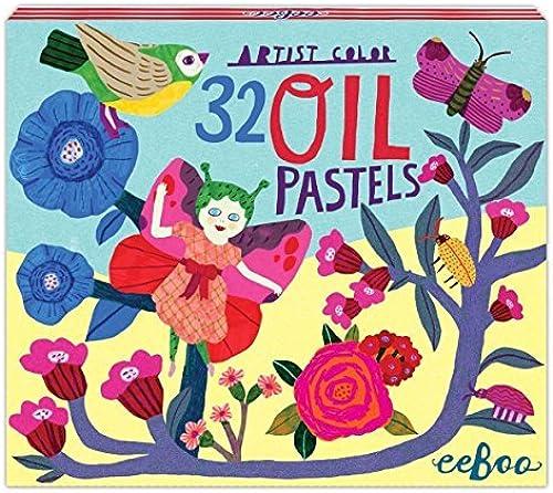 Butterfly Fairy 32 Farbe Oil Pastels by eeBoo