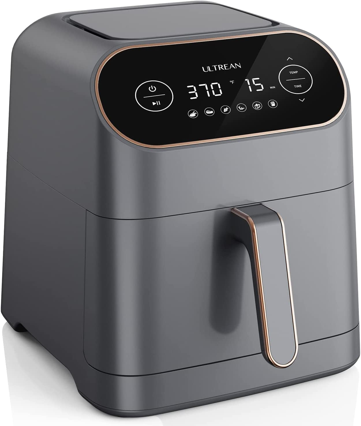 Ultrean Air Fryer, 7 Quart 6-in-1 Electric Hot XL Air Fryer Oven Oilless Cooker, Large Family Size LCD Touch Control Panel and Nonstick Basket, UL Certified,1700W