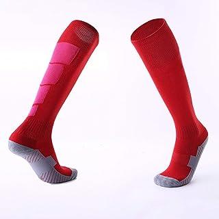 YUIO, YUIO 1 par de Calcetines Deportivos Antideslizantes de fútbol para Hombres Calcetines de fútbol hasta la Rodilla Medias largas Calcetines Altos para Deportes de Canasta de béisbol