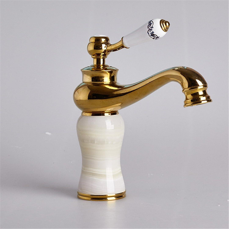 ETERNAL QUALITY Bad Waschbecken Wasserhahn Küche Waschbecken Wasserhahn Kupferner Heier Und Kalter Jahrgang Waschtischmischer BEG2168