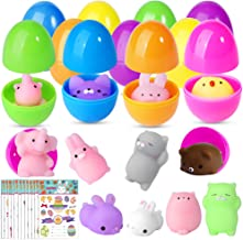 Hicdaw Mochi Squishy Toys Squishy Toys Filled Easter Eggs Stress Relief Toys Gift for Kid (36PCS Easter)