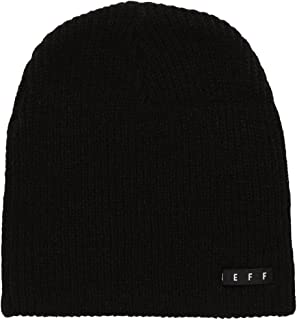 Men's Daily Beanie - Black (Black Label)