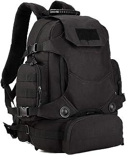 YUHAN Molle ryggsäck 40 l taktisk militär ryggsäck vandring ryggsäck flerfack väska för camping vandring vandring jakt vat...