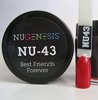NUGENESIS Nail Color SNS Dip Dipping Powder NU 43 Best Friends Forever 1.5oz/43g