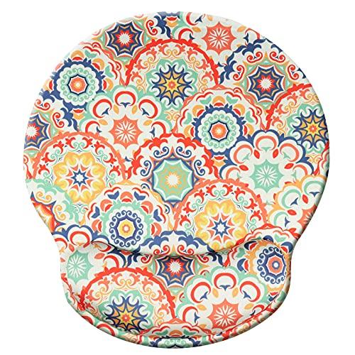 Tapis de repose-poignet,tapis de souris ergonomique avec mousse à mémoire de forme,tapis de support de poignet de souris en caoutchouc antidérapant pour les jeux de travail - mantuoluo011