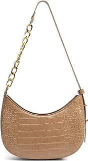 Sponsored Ad - BABABA Classic Fashion Semi-circular Shoulder bag Handbags Messenger Bag, zipper Open And Close, Suitable F...